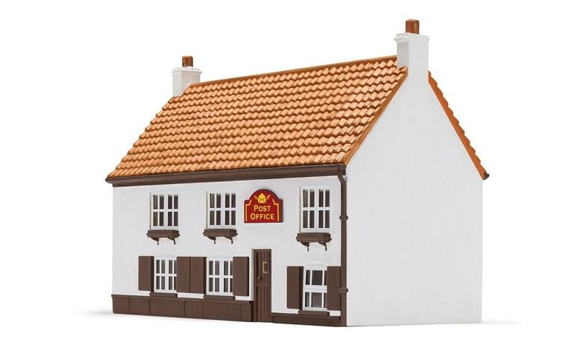 現貨 Hornby R9858 HO規 Village Post Office 鄉村的郵局.完成品