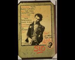 Punk 龐克 朋克 Sex Pistols Sid Vicious 絕版海報 #2