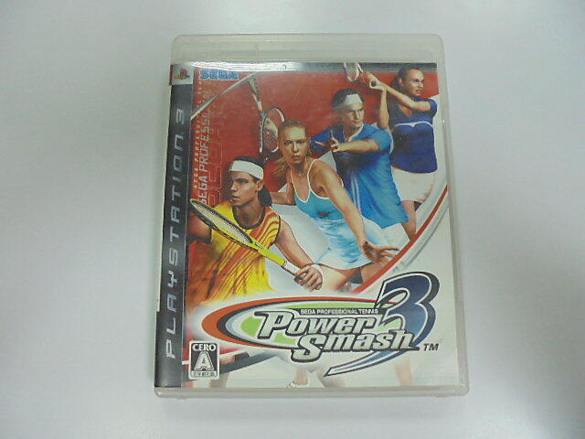 PS3 日版 GAME 威力網球3 (41601938)