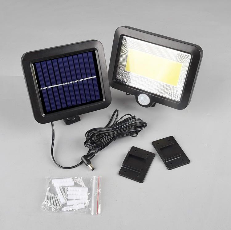 160顆LED+遙控 三模式 太陽能感應燈 (超白光) 泛光燈 路燈 陽台燈 車庫燈 道燈 感應燈 太陽能燈 人體感應