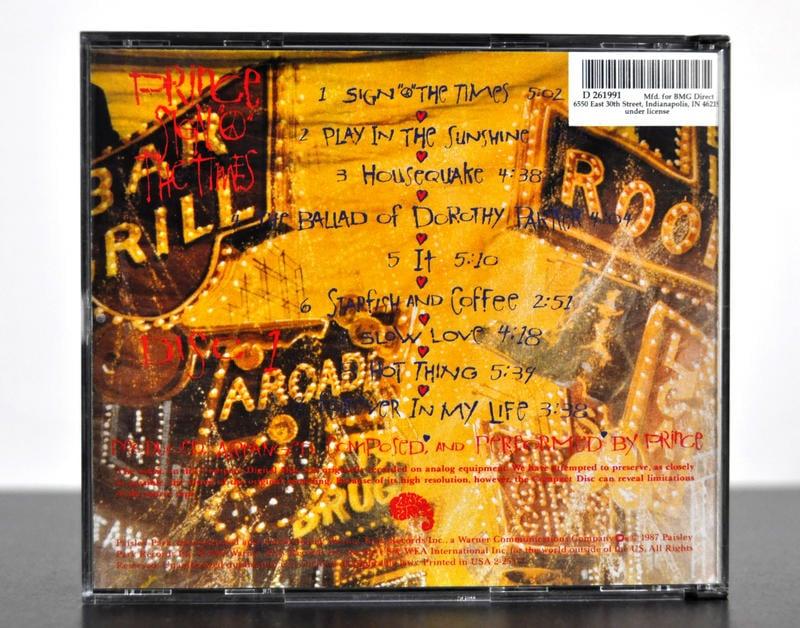 Prince [Sign O The Times] 2CD