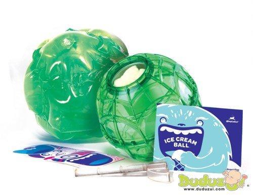 ▇▅▃嘟嘟嘴▃▅▇ 美國 YayLabs! 雪球ing+充氣雪衣組合/小 | 不插電的冰淇淋製作球 ☞ 現貨供應