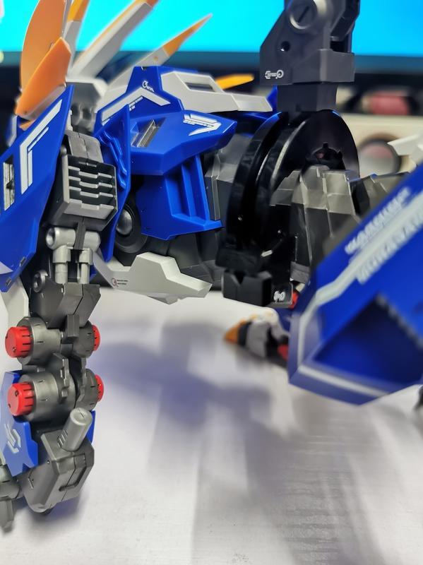 【史派克工廠】預購3月 組裝模型 ZA模型 洛依德 1/72 藍色 村雨長牙獅 劍裝 重裝 機甲 索斯機械獸