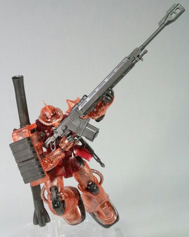現貨 日版 彩透HG 1/144 劇場限定 夏亞專用薩克II 透明 非 獨角獸 PG MG RG 鋼彈