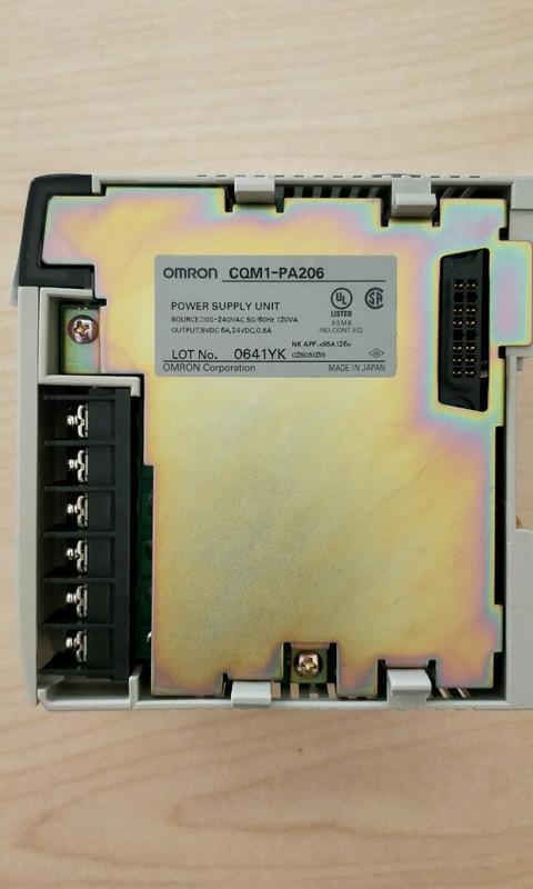 OMRON 模組CQM1-PA206