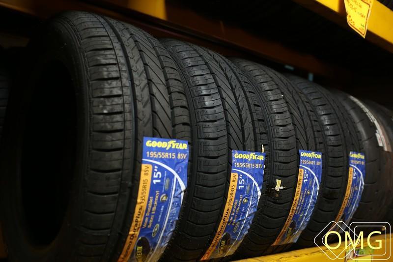 +歐買尬輪胎館+全新固特異輪胎 ASSURANCE DURAPLUS 205/65-15 直購價2200元 低噪音超耐磨