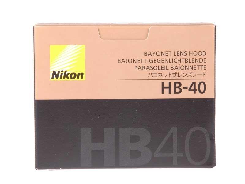 【NRC】Nikon HB40 hood for 24-70 F2.8G 原廠盒裝遮光罩