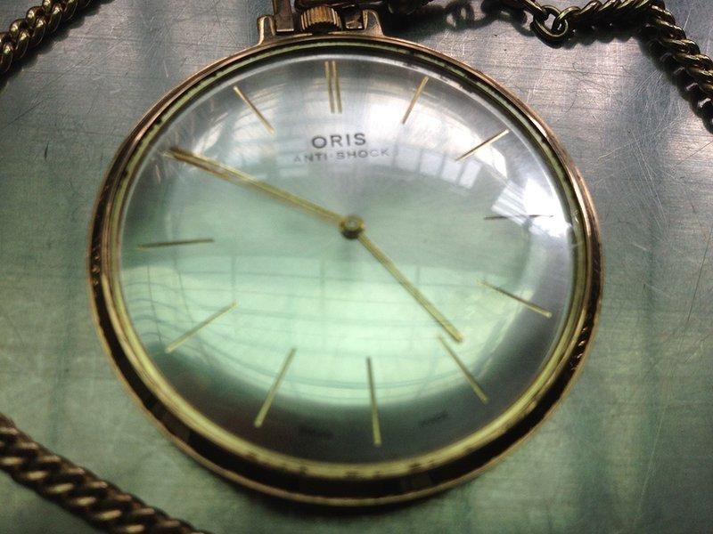 ◎趴步戀吉◎古董瑞士ORIS懷錶