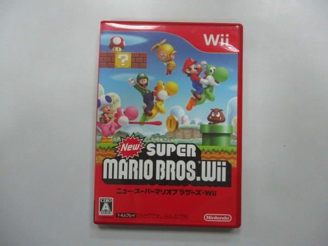 WII 日版 GAME 新超級瑪利歐兄弟Wii (光碟小刮傷)(40995236)