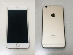 【手機寶藏點】Apple iPhone 6 Plus 64G 螢幕有裂痕 金色 附充電線材