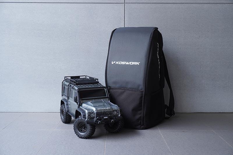 尼克模型 Koswork 1/10攀岩車TRX-4 背包 KOS32212 TRAXXAS SCX10 多功能防水防塵