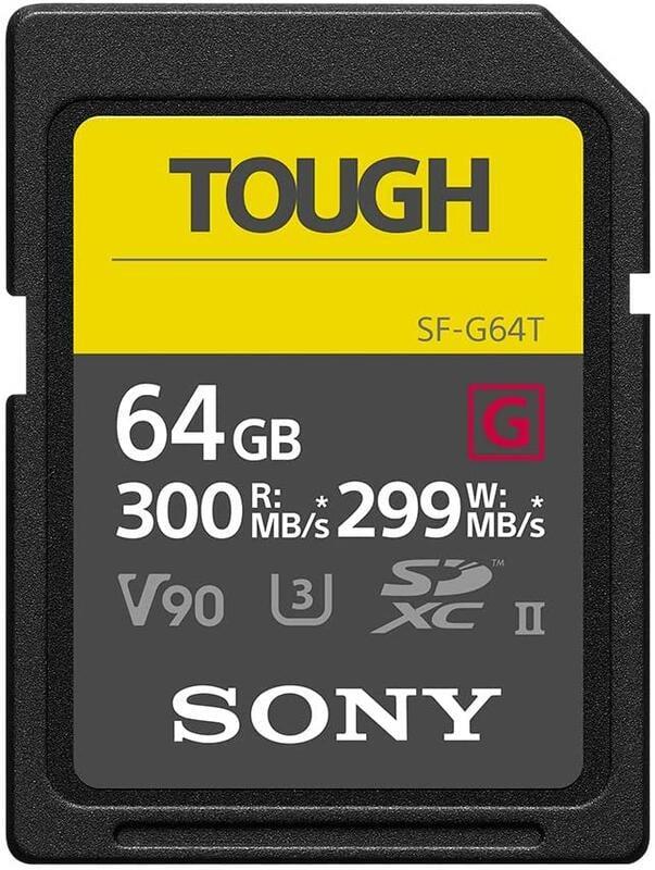 【高雄四海】SONY SF-G64T 64G SD全新公司貨.頂級高速記憶卡.防水防塵耐候.限量特價.寫入299MB/s