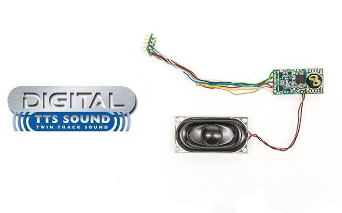 預購中 Hornby R8101 HO規 TTS Sound Decoder - Class 31 音效晶片