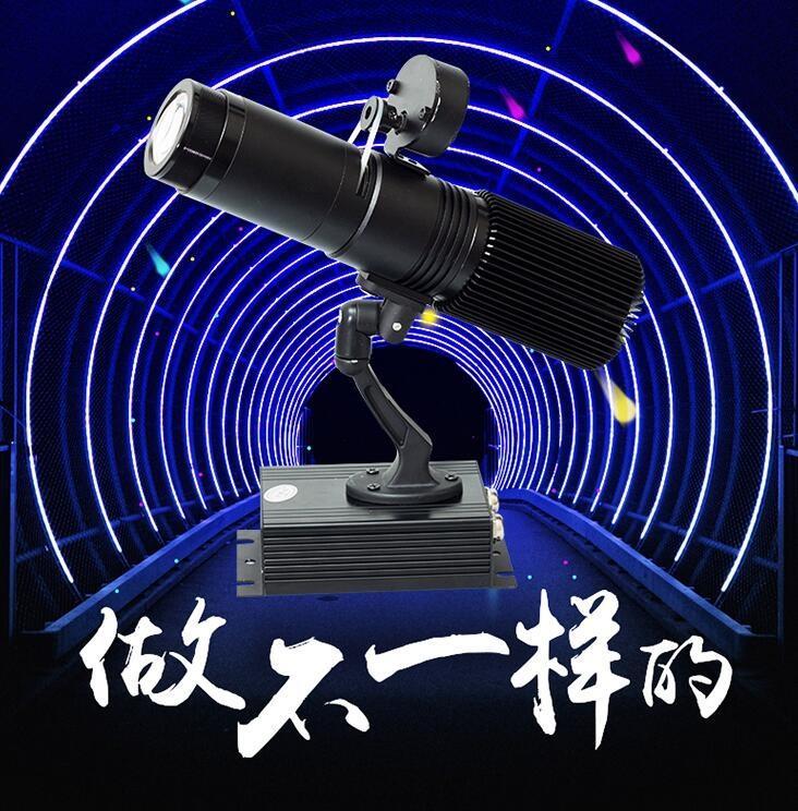 上新寶貝免運8折led廣告投影燈logo戶外文字地面圖案旋轉射燈高清logo投影燈訂製YYS -小呆家