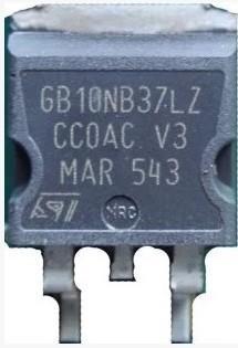 [二手拆機][含稅]原裝 GB10NB37LZ 10NB37 TO-263