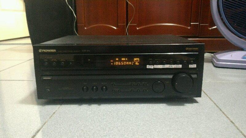 Pioneer-VSX-456,  聲道AM/FM環繞擴大機-降價囉