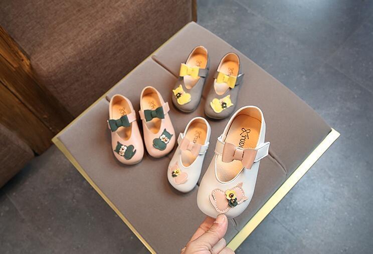 2018春秋季新款兒童鞋子女童皮鞋小童單鞋小女孩公主鞋韓版奶奶鞋【潮咖地帶】