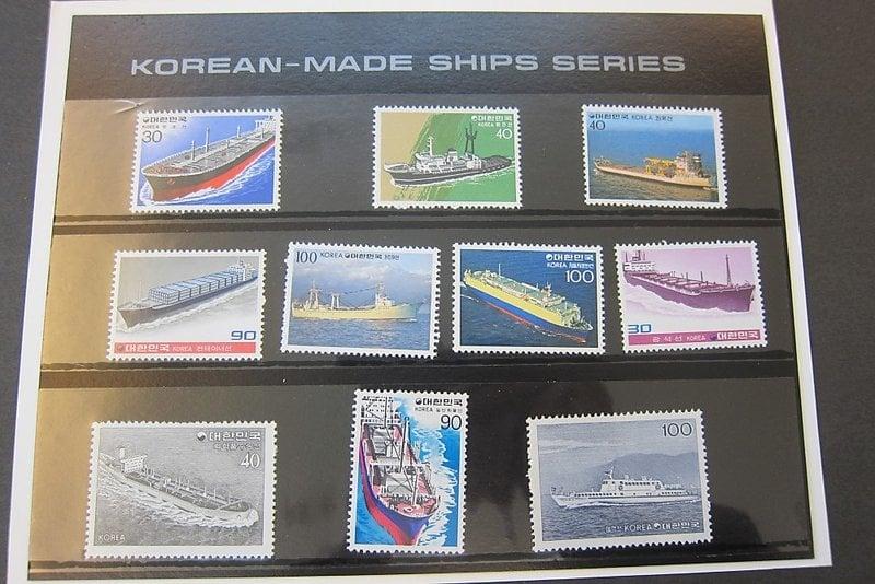 【雲品】韓國Korea 1981 Sc 1235-44 ship sets MNH  庫號#86395