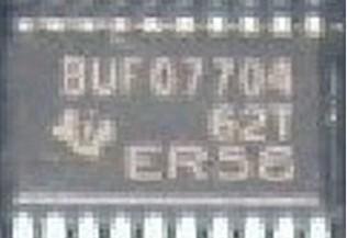 [二手拆機][含稅]BUF07704 液晶屏晶片