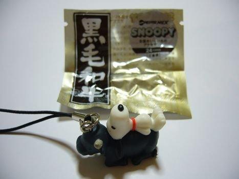 現貨  單賣  日本 百事可樂  全國好吃的物產 第1彈    史奴比吊飾 --13.三重縣(黑毛和牛)