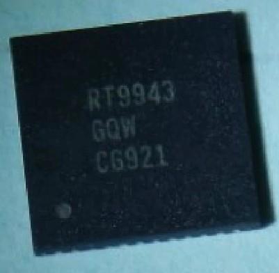 [二手拆機][含稅]原裝 RT9943GQW RT9943 液晶屏晶片