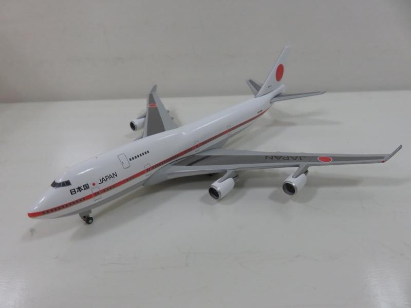 宗鑫 1/500 Herpa Wings HW511575-001 Boeing 747 400 日航 自衛隊 行政專機