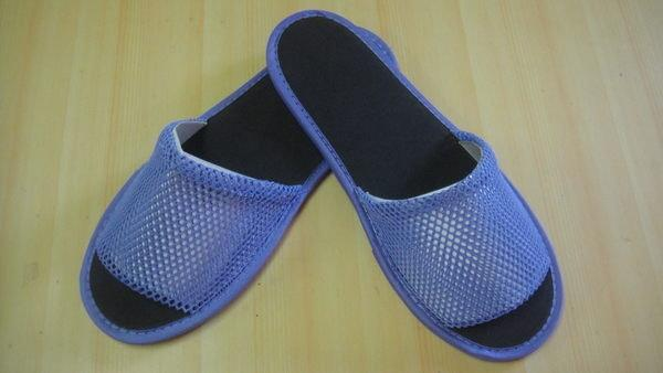 [JLM工廠直營]  CVS-09(紫) 網眼布拖鞋『毛巾拖鞋.室內拖鞋.飯店拖鞋.不織布拖鞋.皮拖鞋』