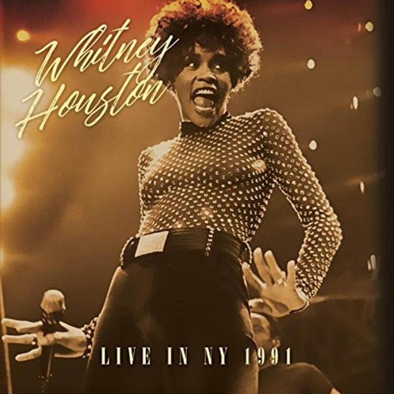 Whitney Houston 惠妮休斯頓 Live in New York 1991 英版 專輯