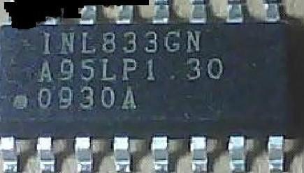 [二手拆機][含稅]拆機二手原裝液晶背光晶片 INL833GN