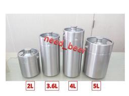 自釀好物--4L家用專業級全新小keg啤酒可樂桶氮氣咖啡