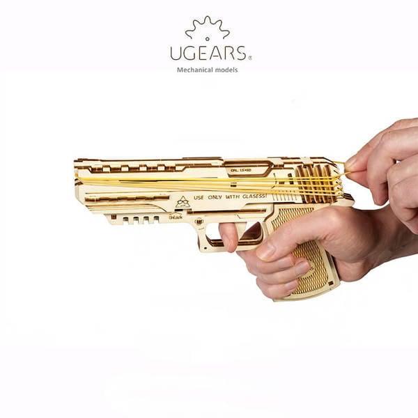 =時空迴廊= ugears 組合 手槍 公司貨
