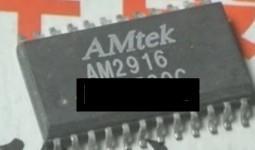 [二手拆機][含稅]拆機二手原裝現貨AM2916 AM2916L/F晶片