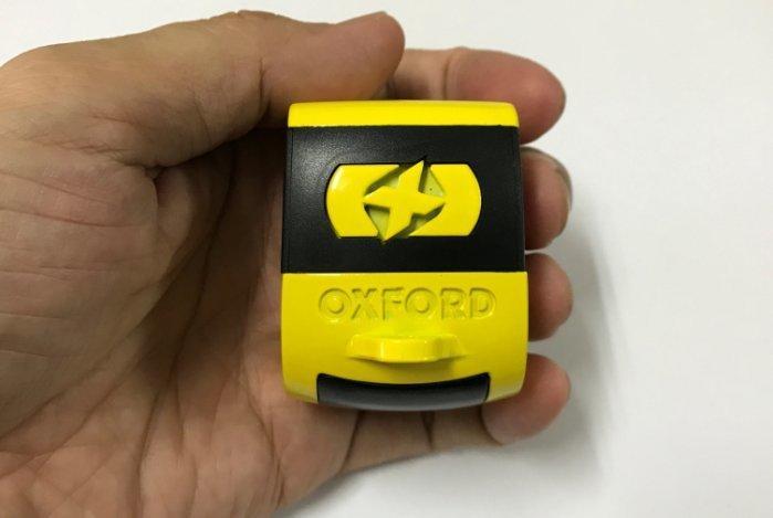 [英澳雙鎖] 英國 OXFORD 品牌 XA5 警報鎖 + 澳洲 HELMETLOK 二代安全帽鎖