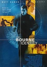 C電影酷卡明信片 神鬼認證The Bourne Identity 麥特戴蒙