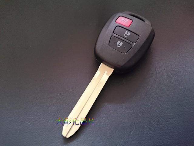 大彰化晶片TOYOTA 2013 NEW Wish Vios Yaris 豐田遙控器鑰匙NEW Vios遙控器鑰匙