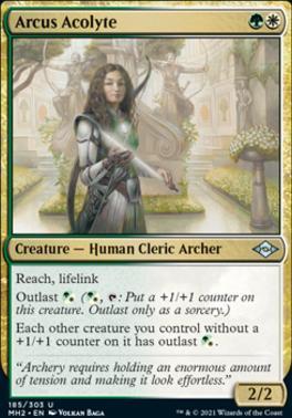 【CardMaster】 MH2 近代新篇2 英/中 Arcus Acolyte_弓弧侍僧