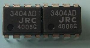 [二手拆機][含稅]3404AD NJM3404AD【DIP-8】品質保證