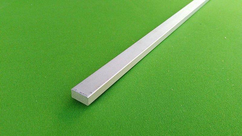 鋁合金材料 6061扁鋁條 四角鋁板 方鋁 厚10mm 厚20mm*長300mm
