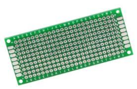 ►537◄3x7cm 萬用板 洞洞板 雙面 3*7公分 電路板 PCB 玻璃纖維 電子實習 DIY