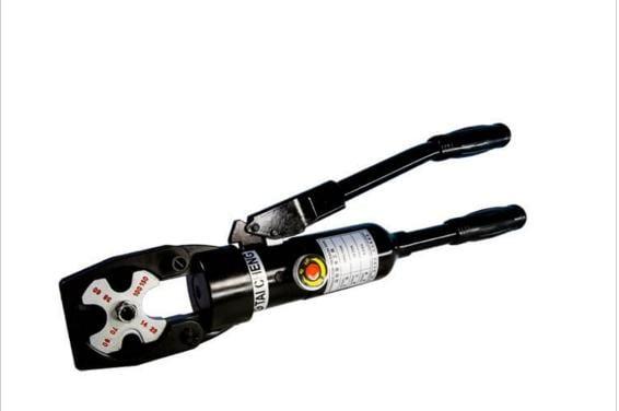 【川大泵浦】台震 CPO-150S 直接式油壓端子壓接鉗 (點式) CPO150S 油壓壓接機