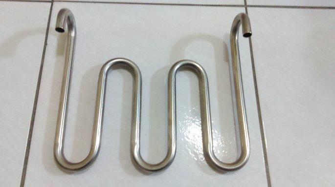 白鐵彎管304材質冷水機串聯多缸白鐵管16/22(可升溫也可降溫)