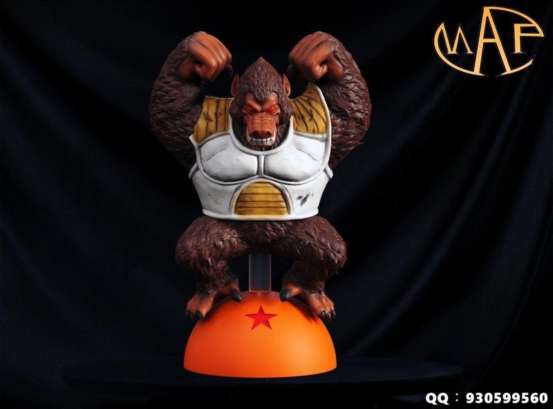 『胖虎館』預購 2020年 第四季 MAP 七龍珠 七星球共鳴 第一彈&第二彈 賽亞人大猿 貝比大猿 GK 雕像 完成品