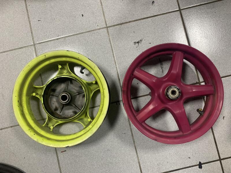 山葉 YAMAHA BWS X 原廠 三角台 大B 輪框 前輪 後輪 鋁圈 鋁框 殺肉 拆賣