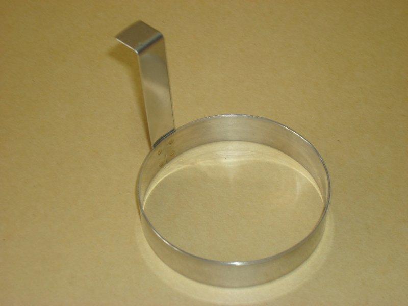 不銹鋼蛋圈  正304不銹鋼  圓形蛋圈  白鐵圓型煎蛋圈  煎蛋模型  台灣製造