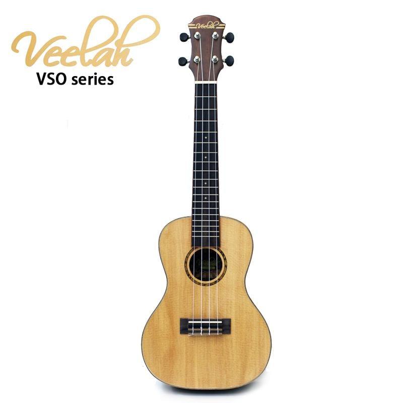 《小山烏克麗麗》Veelah VSO-C 23吋烏克麗麗 雲杉單板 非洲黑桃木側背 單板烏克麗麗