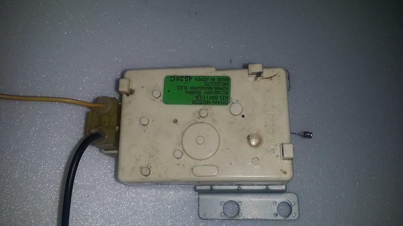 東元洗衣機東芝洗衣機KDSM11TA排水馬達同步馬達排水電磁閥中古