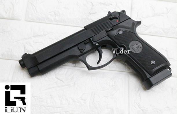 iGUN 貝瑞塔 M9 CO2槍 MC (BB槍BB彈M9A1 M92手槍WE玩具槍短槍空氣槍瓦斯槍Beretta