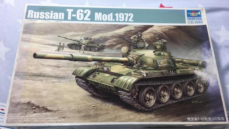TRUMPETER 小號手 1/35 Russian T-62 Mod.1972