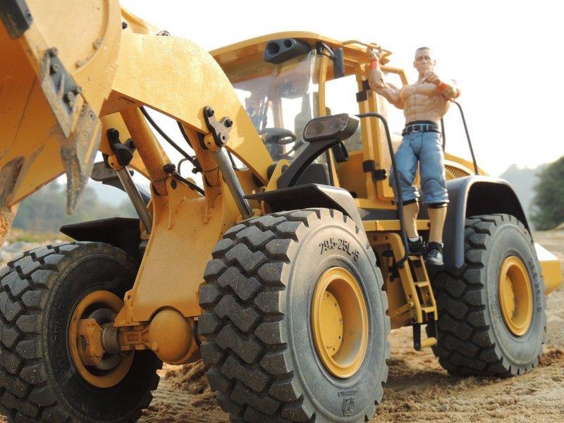 全金屬 1:14 液壓 輪式鏟土機 鏟裝機 裝載機 大貓 山貓 遙控油壓模型