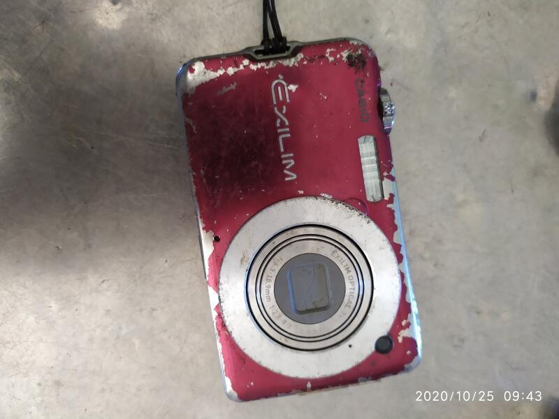 二手故障casio ex10數位相機如圖廢品賣